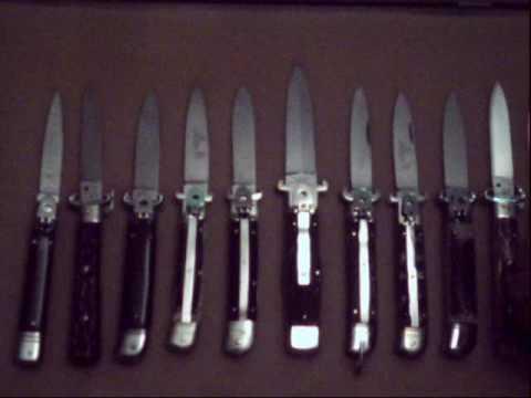 vintage springer switchblade knife outsiders johnny cade