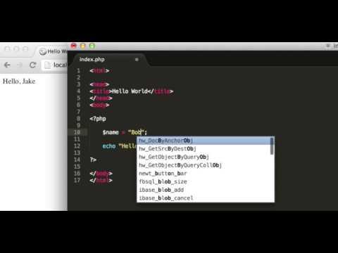 Видео как научиться PHP