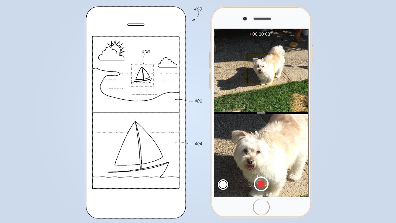 Apple's Proposed Dual Camera Interface for iPhone 7