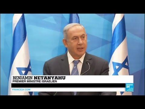 """Israël - Benjamin Netanyahu : """"je m'assiérai seul directement avec le président Abbas à Paris"""""""