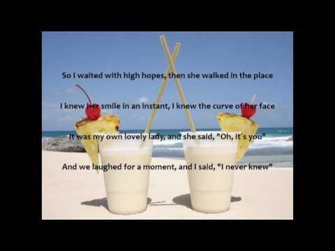 Escape (The Pina Colada Song) Lyrics