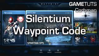 Halo 4 - *New* 3 Battle Rifles Easter Egg And Silentium WayPoint Code (20,000 XP)