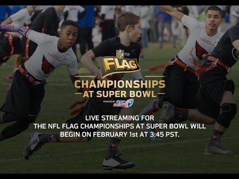 2015 NFL FLAG CHAMPIONSHIPS AT SUPER BOWL (13-14 Boys Div.): Saints vs. Panthers