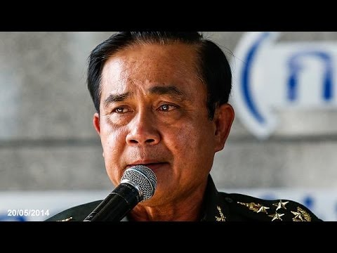 Thai army takes control of government - army chief