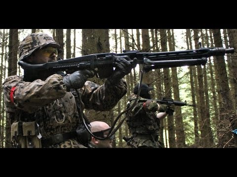 Airsoft War MG-42 MP5 MP40 Scotland HD