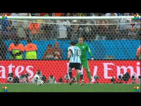 world cup 2014 Argentina vs Netherlands Penalty shootout part 1