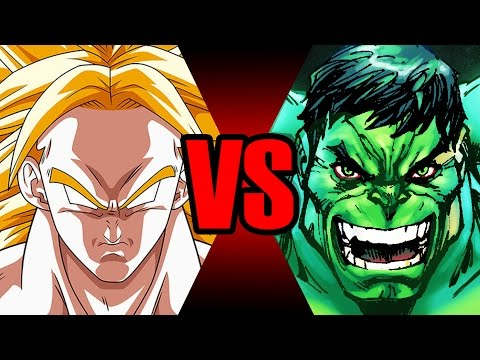 Broly Vs Hulk | Batalha Mortal | Ei Nerd video
