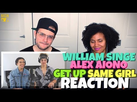 William SInge & Alex Aiono - Get You (Daniel Caesar) & Same Girl (Usher & R. Kelly) | REACTION