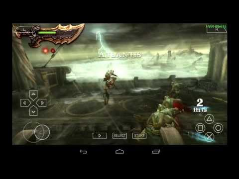 PPSSPP Emulator 0.9.6.2 for Android | God of War: Ghost of Sparta [720p HD] | Sony PSP