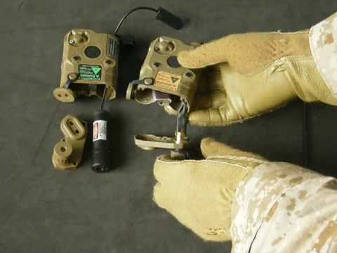 Airsoft PEQ-15 (DIY VFC Green Laser & BA Red Laser)