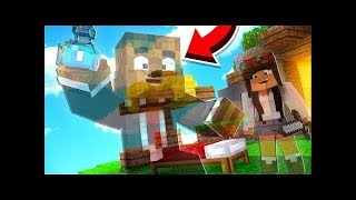 Invisible God Glitch Troll Hack On Noob Players In Cake Wars (Minecraft Bed Wars Prank)