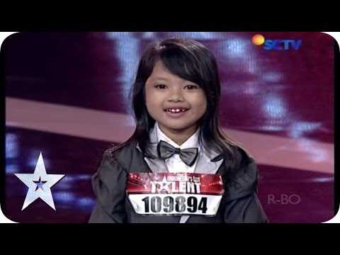 This 7 Year Old Girl Act Is So EXTREME! - Azira Asmara Putri - Audition 2 - Indonesia