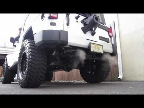 2012 Jeep JKU Gibson Exhaust