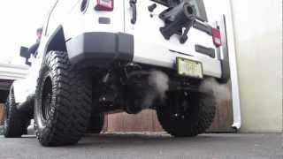2012 Jeep JKU Gibson Exhaust