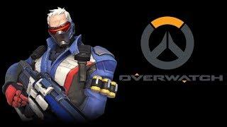 Overwatch Soldier 76 Gameplay