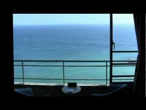 眺望絶佳の最上階客室からの大海原【伊豆熱川温泉旅館 熱川館】