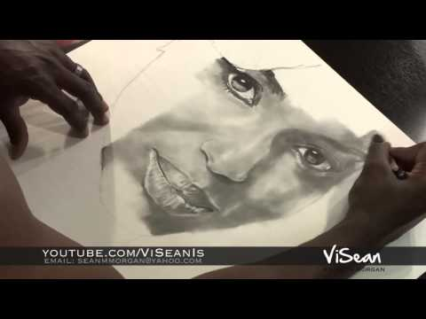 Kerry Washington Speed Drawing Sean Morgan