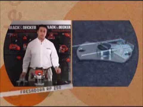 Herramientas para todos TV - Demo fresadora RP250 Black and Decker