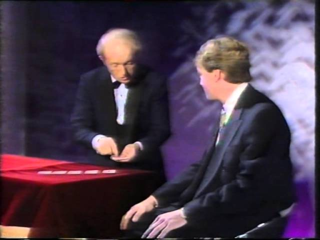 PAUL DANIELS MAGIC SHOW - ESP CARDS