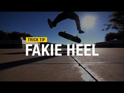 Trick Tip: How to Fakie Heel with Andrew Cannon