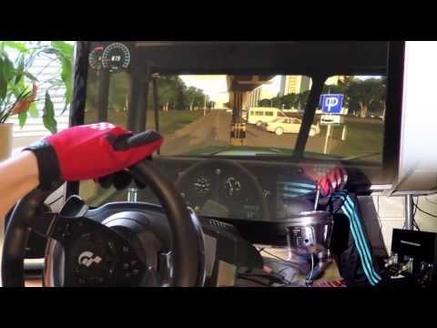 Russian Truck Simulator 2013 - 1080° Steering Wheel PC gameplay. City Car Driving 1.3 HD 2014