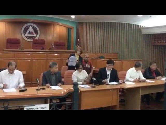 Ex-President Aquino's appointee in Sandigan to preside case vs him