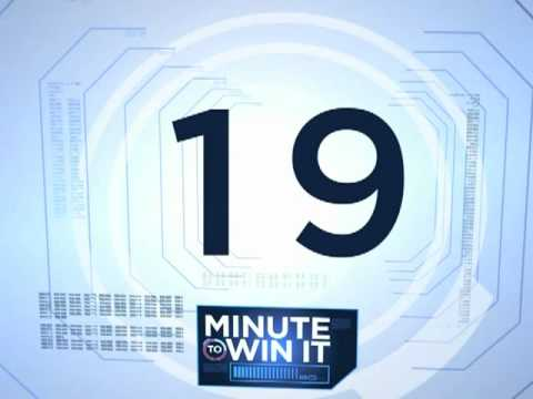 Minute To Win It Countdown video