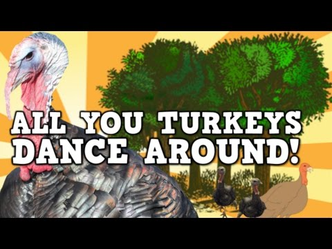 All You Turkeys Dance Around!  (a Content-rich Turkey Song For Kids!) video