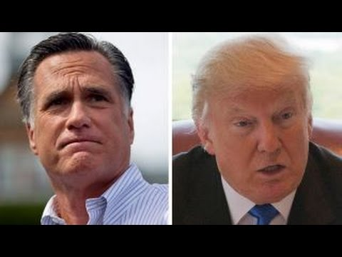 Mitt Romney slams Trump for refusing to release tax returns