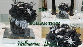 DIY | DOLLAR TREE HALLOWEEN DECOR | DIY GLAM FALL HOME DECOR IDEAS