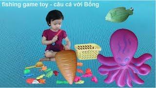 Fishing game toy ♥   Câu cá với Bống ♥   Bống kid