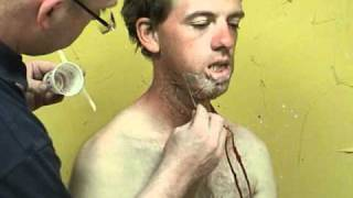 Makeup FX: Stuart Bray Burn Process Part 4