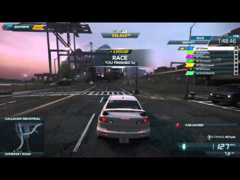 Need For Speed Most Wanted Gameplay Feature Series 2 -- Multiplayer