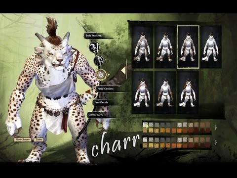 Guild Wars 2 - Charr Character Creation