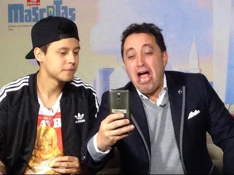 Desde México Andrés López con el Youtuber Mario Ruiz