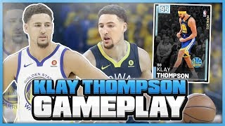 DIAMOND KLAY THOMPSON GAMEPLAY! HEADBAND KLAY? HE MAKES EVERYTHING FROM EVERYWHERE! NBA 2K19 MYTEAM