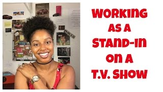 Mel V. Presents: Working As A Stand-In on a TV Show