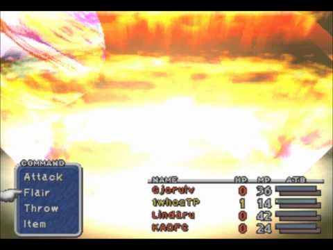 Final Fantasy IX Ozma - Solo - Level 1 Amarant Only Single Character Challenge