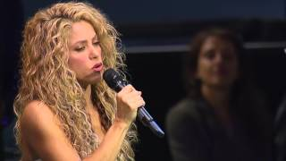 Shakira Sings 'Imagine' At The United Nations | UNICEF