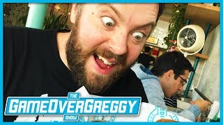 Greg Gets His Beard Trimmed By Andy - The GameOverGreggy Show Ep. 221