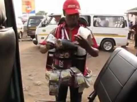 Sexy Ghana Africa Girl Makes Better Nescafe Coffee than Starbucks