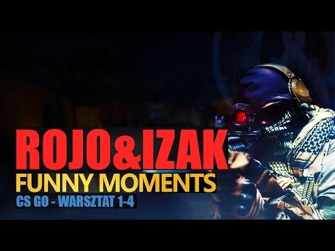 Funny Moments #130: CS:GO   WARSZTAT #1   IZAK & ROJO by Urhara