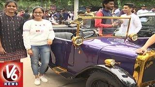 Deccan Heritage Club Organises Vintage Show In Lumbini Park | Hyderabad
