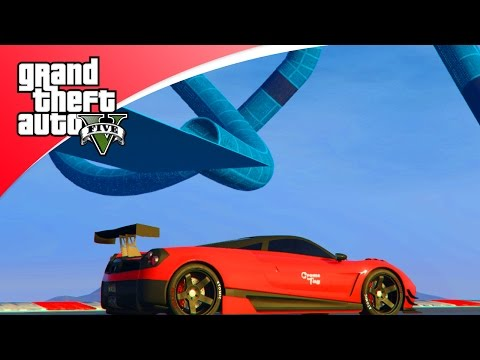 GTA V Online - ZEER RARE SPIRAAL! (GTA 5 Funny Races)