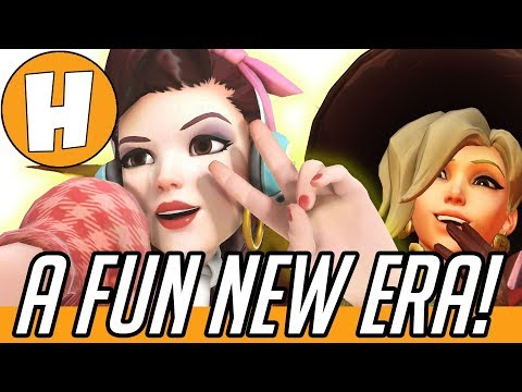 Overwatch - A Whole NEW Game! Mercy & D.va Patch Opinions | Hammeh