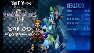 Kingdom Hearts 3 | Tips & Trucos | Los 10 TESOROS de Deslizamiento alpino (Orichalcum+)