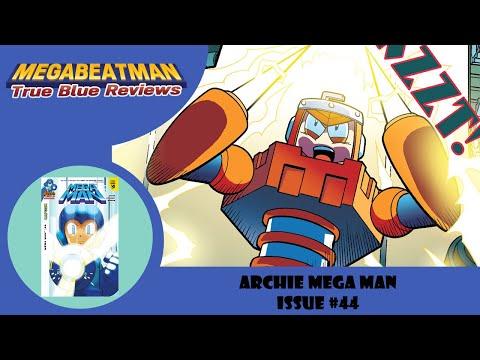 Mega Man #44 - A Let's Review by Megabeatman