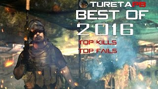 Best of 2016 ► Top Kills and Fail Compilation | Paintball | Airsoft