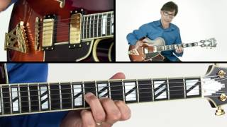 Jazz Standard Guitar Lesson - Flat Nine & Bluesy Breakdown - Frank Vignola