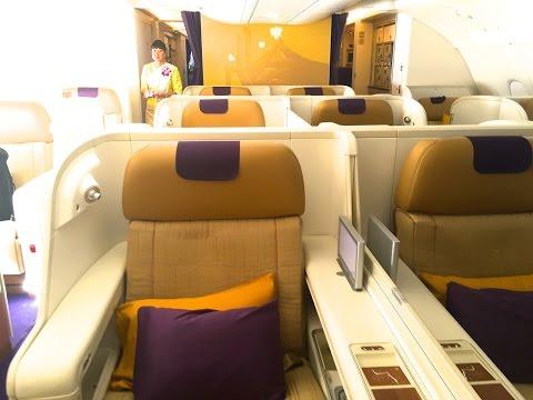 A 380 THAI Airways Royal First Class